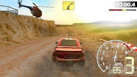 Nuevas imágenes de WRC para PSP
