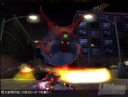 Sonic hace acto de presencia en Shadow the Hedgehog