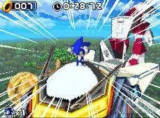 Nuevas imágenes de Sonic Rush presentadas en este TGS