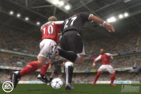 Primer video en movimiento de la versión Xbox 360 de FIFA 06