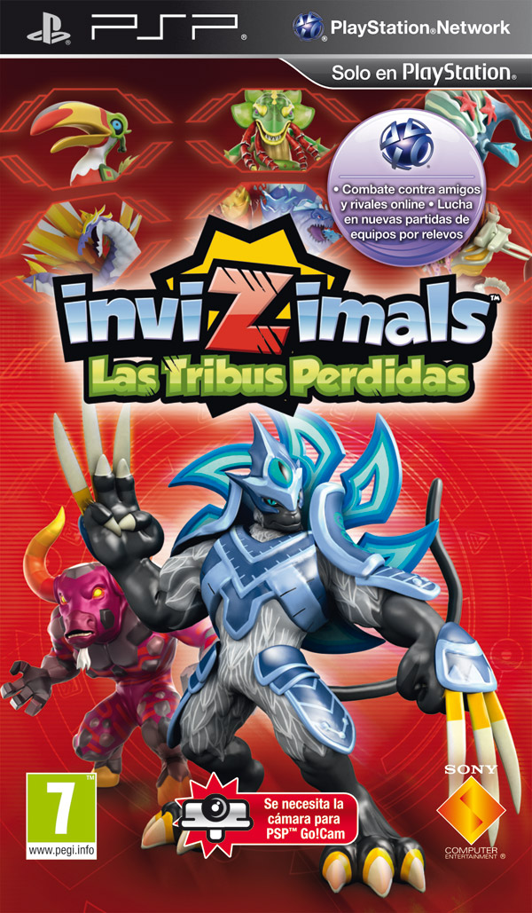 Invizimals: Las Tribus Perdidas