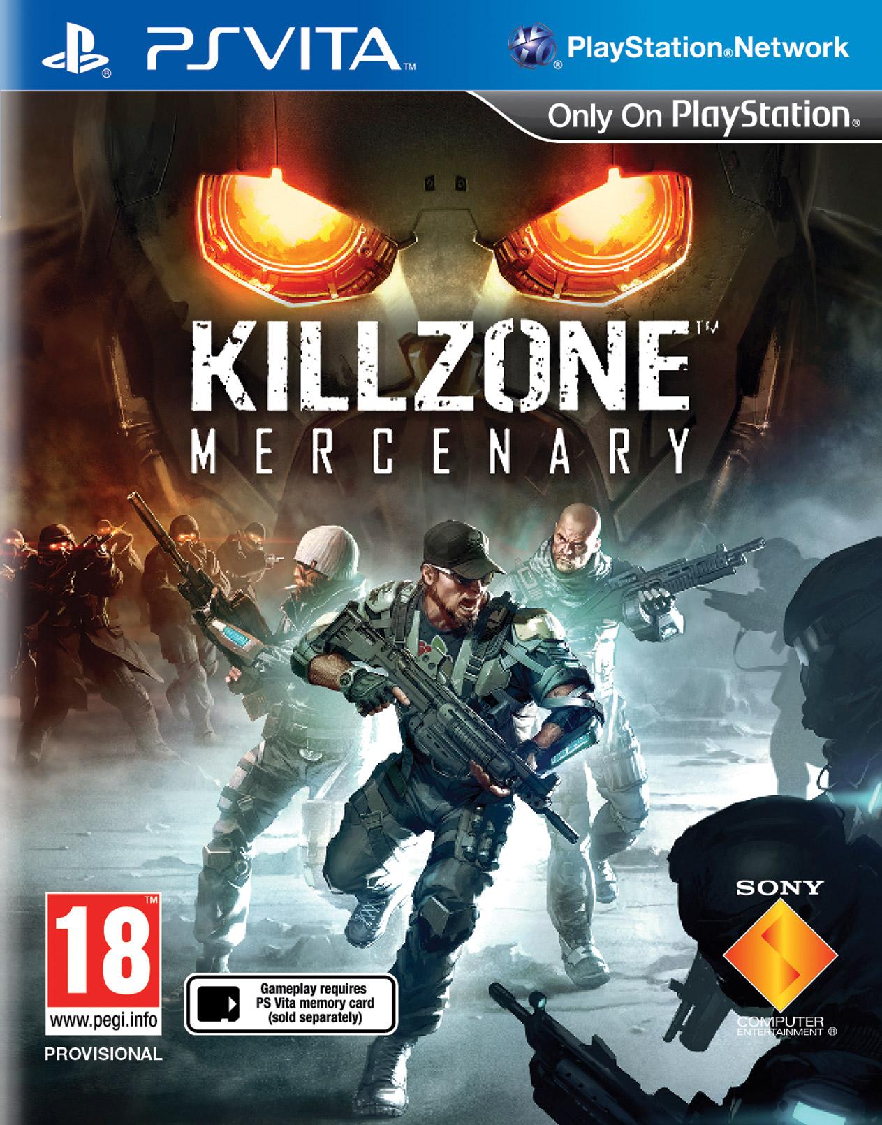 Portada de Killzone: Mercenary