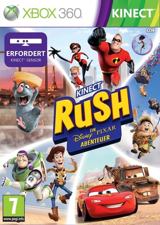 Kinect Rush: Una Aventura Disney Pixar