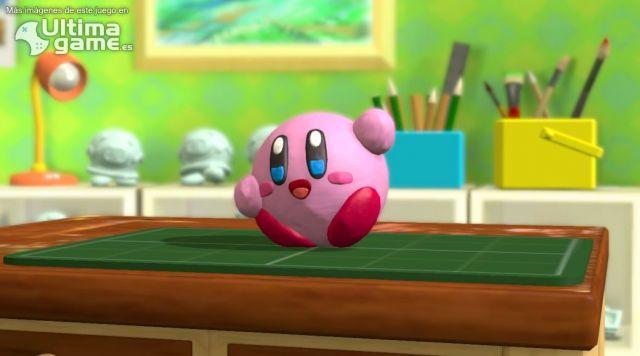 Kirby de plastilina nos muestra sus habilidades en Kirby y el Pincel Arcoíris