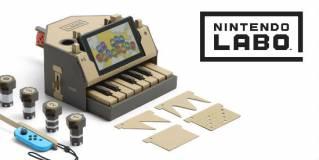 ¿La nueva y genial idea de Nintendo? ¡Construir nuestros periféricos para jugar!