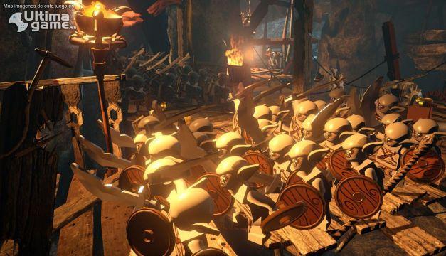 Las espadas de juguete resuenan con el tráiler de lanzamiento de LEGO El Hobbit