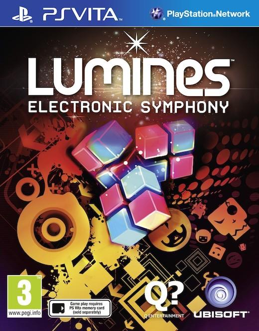 Portada de Lumines: Electronic Symphony