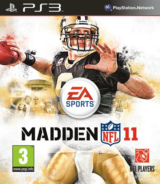 Madden NFL 11 portada. Versión activa. PS3 8b8ac0db1c11b