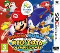 Mario y Sonic en los Juegos Olímpicos de Río 2016 3DS