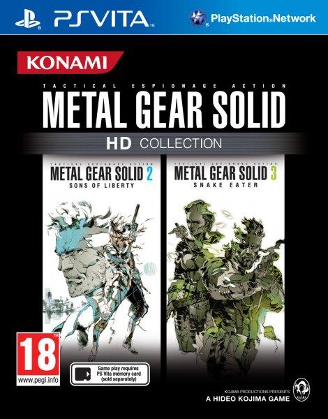 Portada de Metal Gear Solid HD Collection