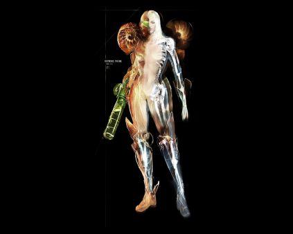 Samus Aran, la cazadora más famosa de la galaxia, al desnudo imagen 2