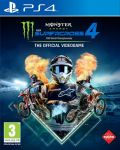 Monster Energy Supercross -The official Videogame 4 portada