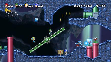 New Super Mario Bros. Wii - El rey de las plataformas y sus amigos, listos para la acción