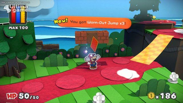 Mario nos muestra sus habilidades para devolver el color en Wii U