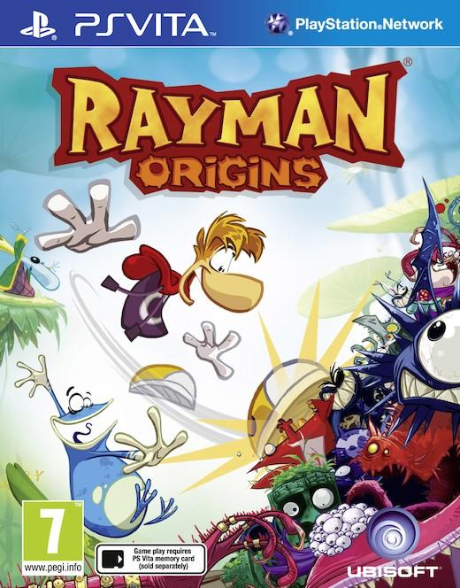 Portada de Rayman Origins