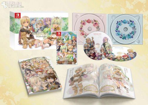 Edición especial física en Japón para Runer Factory 4 Special