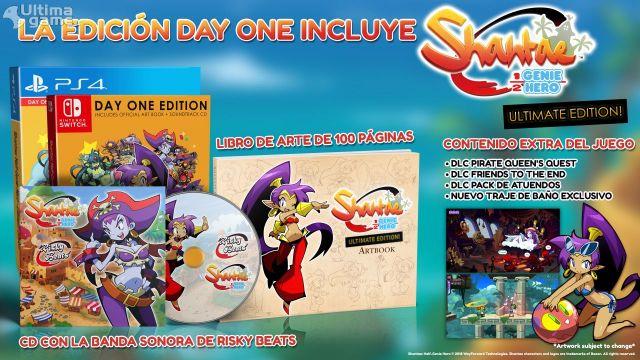 Así es la espectacular Shantae Half Genie Hero Ultimate Edition, con capturas exclusivas