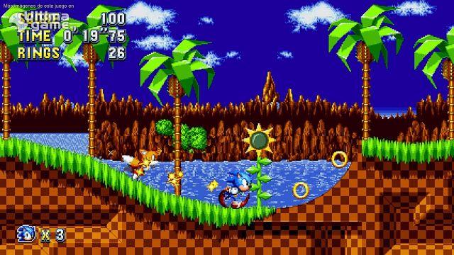 El Sonic retro se vuelve aún más retro con pantallas de bonus