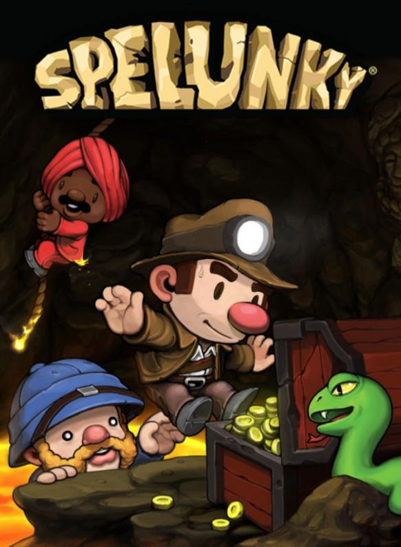 Portada de Spelunky