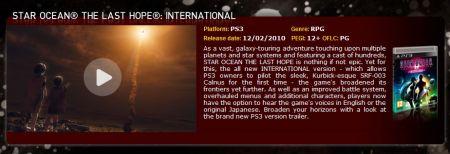 PS4 y PC también contarán con una versión de Star Ocean 4