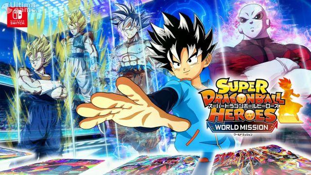 El juego de cartas de Goku, llega finalmente a Switch con juego competitivo en la misma consola