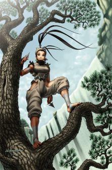 El Personaje de la Semana - Ibuki, de Street Fighter  imagen 1