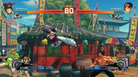Juri, de Super Street Fighter IV