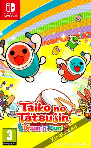 Taiko no Tatsujin Switch y PS4