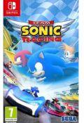 portada Team Sonic Racing Nintendo Switch