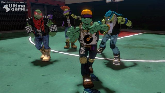 Las Tortugas se enfrentan a Shredder en su desafío final