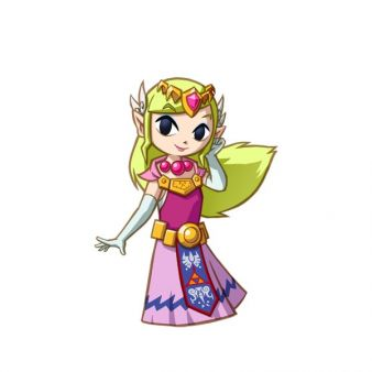 El personaje de la semana - La princesa Zelda (Spirit Tracks) imagen 1