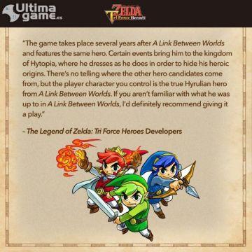 Descubre las Grutas Sombrías, el mayor desafío de The Legend of Zelda: Tri Force Heroes
