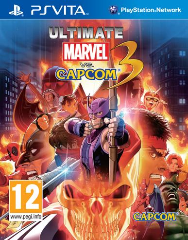 Portada de Ultimate Marvel vs. Capcom 3