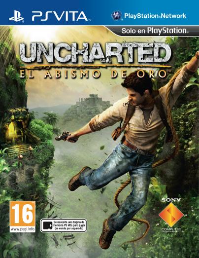 Portada de Uncharted: El abismo de oro