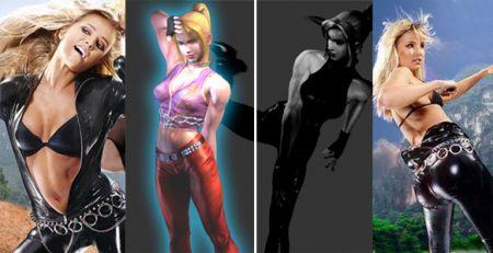 La bomba rubia de Virtua Fighter, al desnudo imagen 4