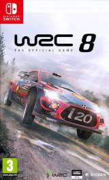 WRC 8 The Official Game SWITCH