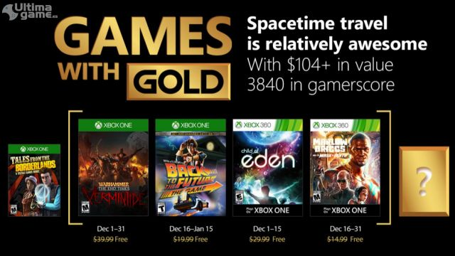 Estos son los juegos gratis de Xbox One y Xbox 360 para Diciembre de 2017
