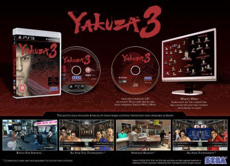Yakuza 3 - La versión occidental llegará recortada