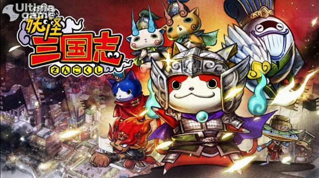 Monstruos gigantes como jefes del nuevo Yo-Kai Watch: Three Kingdoms