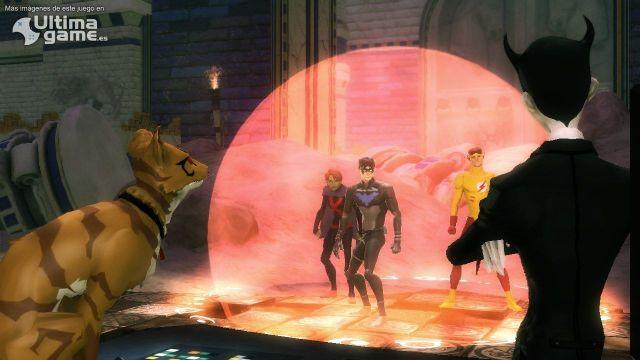 Los héroes de Young Justice: Legacy se preparan para luchar contra los villanos