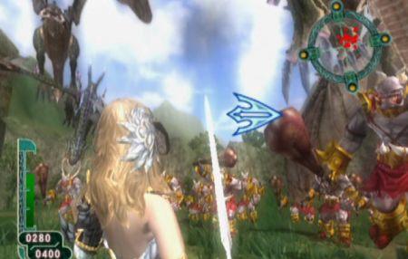 Zangeki no Reginleiv - Sangre, espada y brujería en Wii